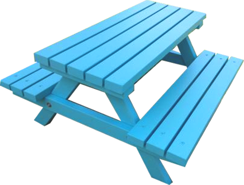 """MINI"" COLOUR TIMBER PICNIC TABLE"