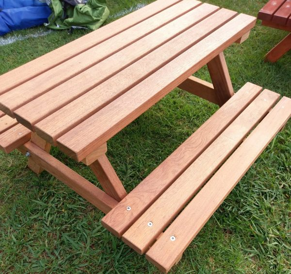 """MINI"" HARDWOOD (KWILA) PICNIC TABLE"